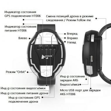 Часы управления Hubsan HT006