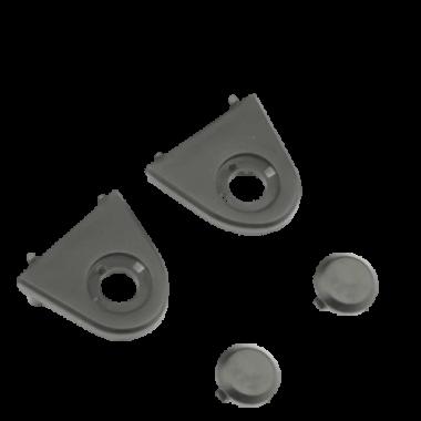 Пластиковые заглушки крепления задних лучей для Zino Pro черный - ZINO000-66